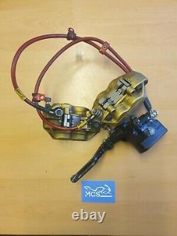 Honda Cbr600rr Complete Front Brake System Calipers Lines Master Cylinder 03-04