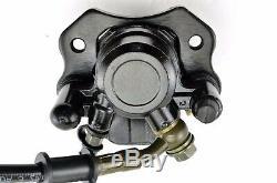 Hydraulic Rear Disc Brake Caliper System / Pads 110cc 125cc Quad Dirt Bike ATV