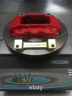 K-SYSTEM. Pro HONDA ACCORD VII & VIII / 02-15 BREMBO 4-POT 324x30 BIG BRAKE KIT
