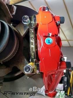 K-SYSTEM. Pro HONDA CIVIC X 2016+ BREMBO 4-POT 324x30 BIG BRAKE KIT