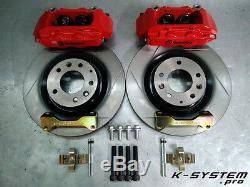 K-SYSTEM. Pro MAZDA MX-5 NC 05-14 BREMBO 4-POT 320x28 BIG BRAKE KIT BBK