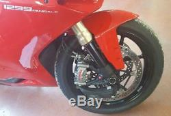 KAWASAKI NINJA ZX10R (11-19) GP Ducts Front Brake Cooling System by CNC RACING