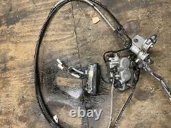 KTM EXC 125 250 300 350 400 450 EXC-F 2009 Front Braking System Complete Project