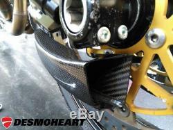 Kawasaki Ninja ZX10R CNC RACING Front Brake Cooling System KIT GP Ducts + Mount