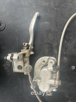 Ktm 125 Front Brake System Caliper Lever Master Cylinder Complete 2004