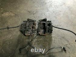 Mercedes Benz Oem W210 W208 Clk55 E55 Amg Front Caliper Brake Brakes Set 98-02