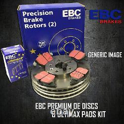 NEW EBC 288mm FRONT BRAKE DISCS AND PADS KIT BRAKING KIT OE QUALITY PDKF2100