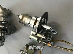 OTK KART Front Manual front brake system