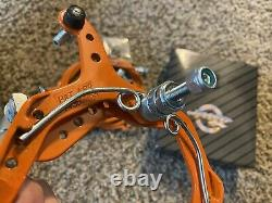 Odyssey BMX Brakes 1985 GT Hutch Performer System 2000 Vintage NOS Orange Rare