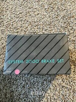Odyssey BMX Brakes 1985 GT Hutch Performer System 2000 Vintage NOS Pink Rare