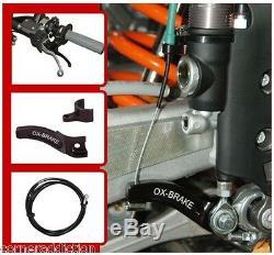 Ox-Brake Left Hand Rear Brake System LHRB Husqvarna 250 250i 300 350 450 501