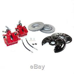 Performance big brake kit rear Seat Leon Cupra 1P 5F Skoda Octavia RS Mk2 Mk3