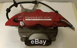 Peugeot RCZ-R / 308 GTI Alcon front braking system incl. Rotors