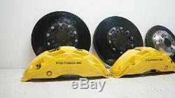 Porsche 958 92A 7P5 Cayenne Ceramic Pccb Brake System Brake Ceramic