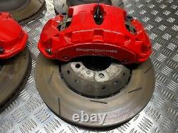Porsche Panamera 970 Turbo 2015 Complete Brembo Brake System Calipers & Discs