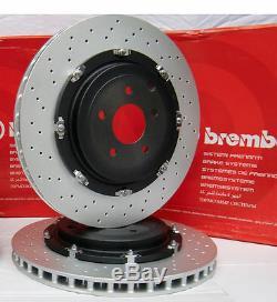 RS4 Brembo Brake Discs & TRW Pads Sensors Audi RS4 B7 / RS 4 Quattro Brembo