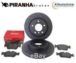 Range Rover Sport 4.2 V8 05-09 Front Brake Discs Pads Brembo System Coated Black