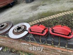 SEAT Leon Cupra Ateca Brake Calipers 5F0615123A 5F0615124A 340mm Upgrade