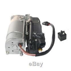 Top Quality Mercedes W212 S212 C218 X218 Air Suspension Pump Compressor + Relay