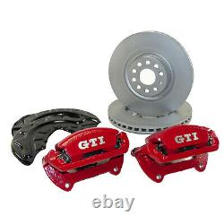 VW Golf 7 VII Gti Performance Brake System Front Calipers 340mm Discs