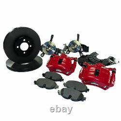 VW Up! Up Gti Original Brake System Front 288mm Caliper Red With Discs