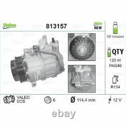 Valeo Neuteil Kompressor Klimaanlage Mercedes-benz 813157