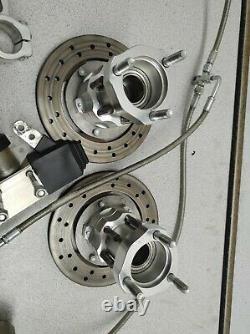 Wild kart Front Braking System, Xenon, Lotus Karts, Brakes