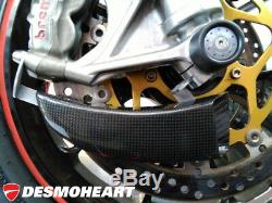 Yamaha YZF R1 CNC RACING Front Brake Cooling System KIT GP Ducts + Mount