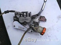 Yamaha yz wr 250-450 front brake master ylinder systemincluded caliper