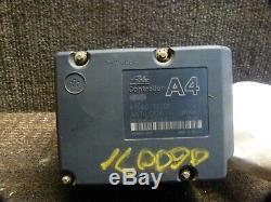 01 02 Nissan Frontier Xterra Abs Pompe Antiblocage De Frein Du Module Oem 47660 7z700