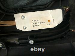 03-08 Bmw Z4 E85 E86 Centre Intérieur Frontal Console Shifter Knee Pads Black Oem