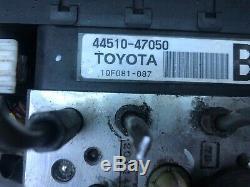 04-09 Toyota Prius Hybride Abs Antiblocage Système Antiblocage Pompe De Frein 4451047050
