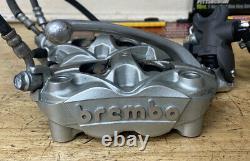 11-20 Gsxr 600 750 Oem Front Brake System Brembo Calipers Master Cylinder Lines