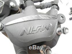 17 18 19 Kawasaki Ninja Ex650 Ex650 Abs Système De Pompe Avant Et Arrière Étriers Lines