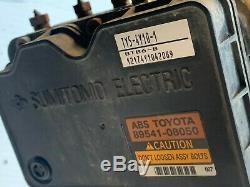 2001 2006 Toyota Sienna Freinage Abs Pompe Module Unité 89541-08050 Oem