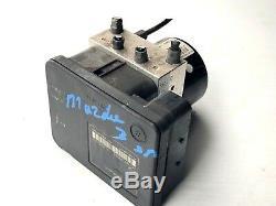 2006 2009 Mazda Speed 3 Anti Système De Freinage Abs Module De Pompe P 6n61-2c405-ca Oem