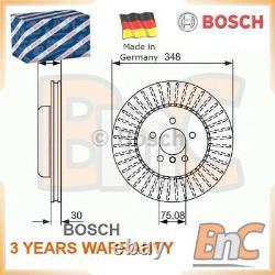 2x Bosch Front Brake Disc Bmw 5 F10 F18 5 Touring F11 6 Coupé F13 Oem 0986479772