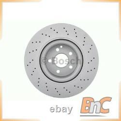 2x Bosch Front Brake Disc Set Mercedes-benz Classe S W221 Oem 0986479413