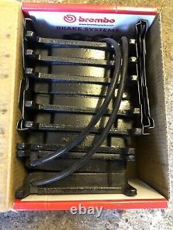2x Disques De Frein Avant Brembo Oem (pair) & Pads, Capteurs D'usure Pour Audi Rs4 B7 Rs 4