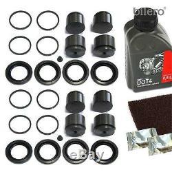 2x Étrier De Frein Kit De Réparation + Piston Avant 44 MM Pour Set-système Brembo Joint
