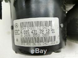 Abs Unité De Contrôle Unité Sbc Bloc Hydraulique Pour Mercedes W211 E270 02-06