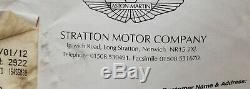 Aston Martin Db7 I6, Système De Frein Avant La Course Nouveau Ap