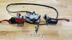Asv Inventions De Frein Avant / Embrayage Levier Système 02'-08' Complète Honda Crf450r