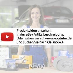 Ate Bremsscheiben Belüftet Set + Bremsbeläge Ø 320 MM Vorne Audi A4 8e B6 8ed