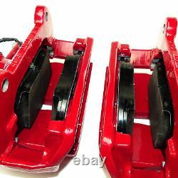 Audi A3 S3 8v Avec Frein D'origine Avant Étriers Pads Système Red