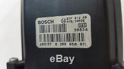 Audi A4 8e B6 Abs Bloc Steuergerät Hydraulikblock 8e0614517 Bosch 0265950011