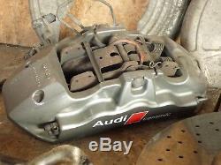 Audi S8 5.2 V10 D3 4e Système De Freinage En Céramique En Céramique De Frein Étrier De Frein Set Disques