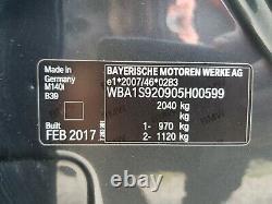 Bmw 1-série 2018 F20 M140i Systeme Complete De Freinage De Calipers Et Disques Blue