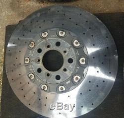 Bmw M5 F10 M6 F06 F12 F13 11-16 Céramique Système De Freinage Complet Frein Véritable