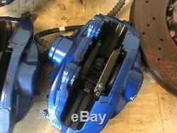 Bmw Oem F80 F82 F83 F87 M2 M3 M4 Étrier De Frein Avant Et Arrière Set Rotors Bleu